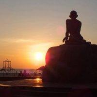 Памятник Махатма Ганди.Удупи. :: Александра Михайлина
