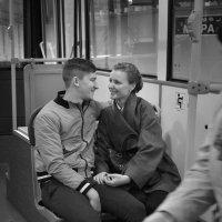 Автобус для двоих... :: Беспечный Ездок