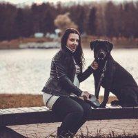 Дама с собачкой. :: Дмитрий Русак