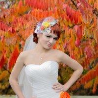 Яркая невеста :: Дмитрий Фотограф