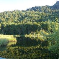 Озеро в горах :: Александр