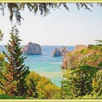 Черное море.Бухточка :: Лидия (naum.lidiya)
