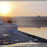 Закат на реке Ю.Буг :: Валентин Цапков