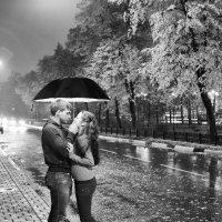 Ночь и дождь - чудесное время для съемок :) :: Станислав Свидерский