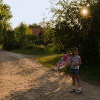 Девочка со змеем :: Елена Викторова
