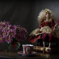 Вечерний чай с мадмуазель Ангелиной :: Natali K