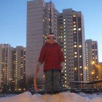 дочь и снег :: михаил тележкин