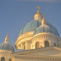 голубые купола :: Мария Пикалова