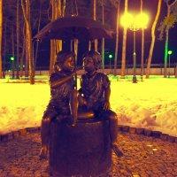 Их было двое под зонтом... :: Photographer MarKo