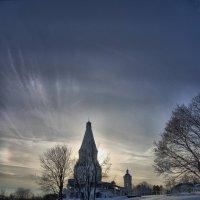 Вид Коломенского январь 2013 :: Pavel Stolyar