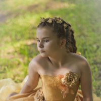 Портрет девочки. :: Анна Тихомирова