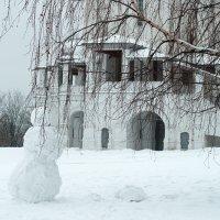 Снеговик :: Ирина Татьяничева