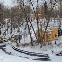Зима в Павловском парке :: Олег Попков