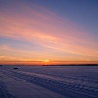 Двадцать восьмой закат января :: Алина Ермохина