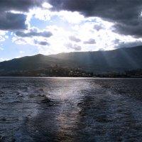закат над Ялтой :: Александр Голуб