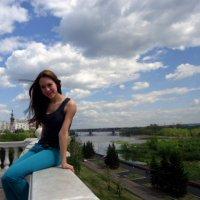 На набережной Енисея :: Анастасия Артман