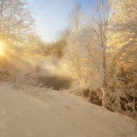 Утренняя солнечно-туманная... :: Andrey K.