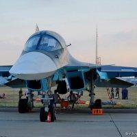 Под крылом самолета... :: Дмитрий Бубер