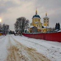 Верея.Константино-Еленинская церковь :: Евгений Жиляев