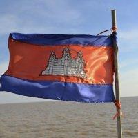 Флаг камбоджи :: Anna Kashkovskaya