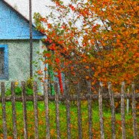 Осень в деревне. :: Ира Егорова :)))