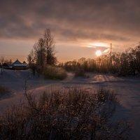 На закате. :: Роман Дмитриев