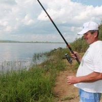 на рыбалке :: Александра Андреева