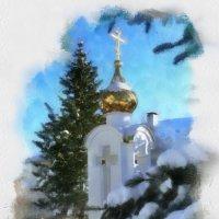 Зимняя акварель :: Игорь(ИНЕЙ) Елифёров
