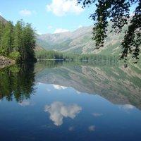 Горное  озеро  Омот :: Сергей Елисеев