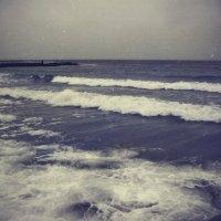 Зимнее море в стиле ретро. :: Анастасия Петялина