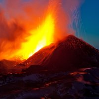 Антон Агарков - Извержение Толбачика :: Фотоконкурс Epson