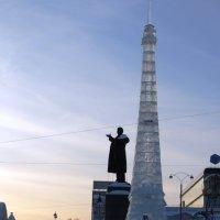 Ледовый городок в Екатеринбурге :: Ираида Спицына