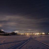 Река зимой :: Сергей Тарасенко