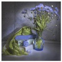 В голубом... :: Svetlana Sneg
