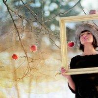 Olga with Apple :: Дмитрий Медведев