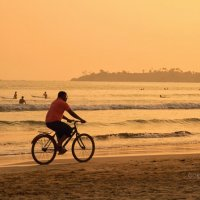 Велоспорт в океане :: Сергей Горбенко