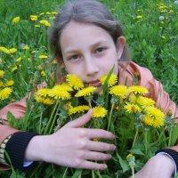 Одуванчики мои. :: Жанна Савкина