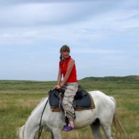 Сяду я верхом на коня... :: Сергей Комков