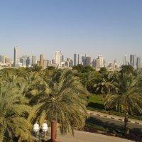 ШАРДЖА, вид с городского пляжа Дубай. :: ЗАО ЕВРОГАЗ