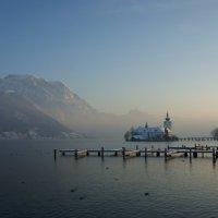 Зимнее утро над озером... :: Anastasia Ciego