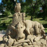 Скульптура из песка :: Галина Петрушкова