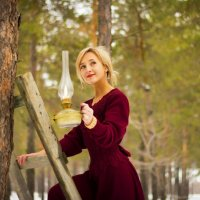 в лесу :: Анна Вершкова