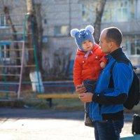 С папой. :: Viktor Сергеев