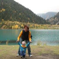 красивейшее озеро Иссык ( погибшее в 1963 г. -сель) :: Татьяна Гулевич-Хациева