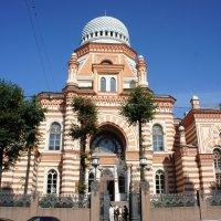 Большая хоральная синагога в Санкт-Петербурге на Лермонтовском проспекте, дом 2. :: Елена Павлова (Смолова)
