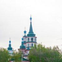 Храмы  Иркутска (Крестовоздвиженская церьковь) :: brewer Vladimir
