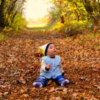 То ли опёнок...То ли ребёнок... :: Ольга Ивченко