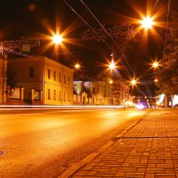 Ночной Томск. :: Павел Нагорнов