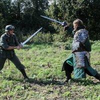 Кто к нам с мечом? :: Dima Rann