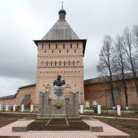 памятник Дмитрию Пожарскому в Суздале :: Galina Leskova